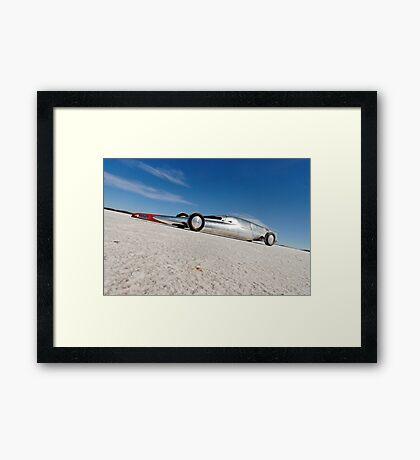 Silver Lakester Framed Print