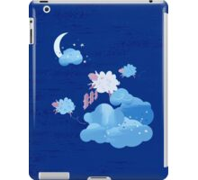 Sheep Jumping over the Fence iPad Case/Skin