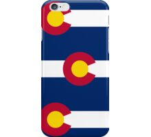 Smartphone Case - State Flag of Colorado  - Patchwork Large iPhone Case/Skin