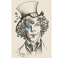 Mad Hatter (blue) Photographic Print