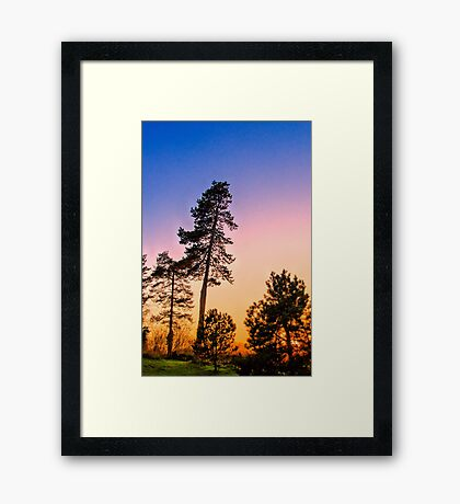 Setting Sun 2 Framed Print