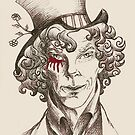 Mad Hatter (burgundy) by NadddynOpheliah