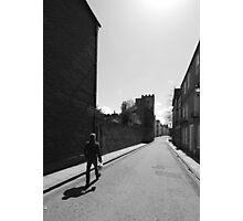 Long Shadow, Durham Photographic Print