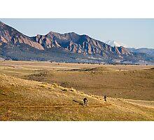 Colorado Mountain Biking Fun Photographic Print
