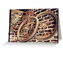 """""""Elvis Presley's Bicycles"""" Greeting Card"""