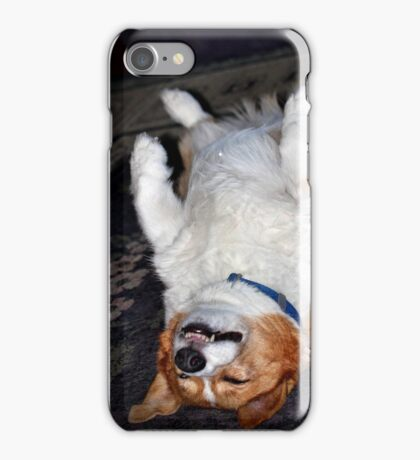 Exhausted iPhone Case/Skin