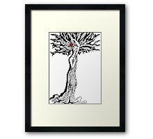 Ladytree Framed Print