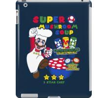 Super Mushroom Soup! iPad Case/Skin
