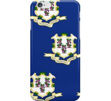 Smartphone Case - State Flag of Connecticut  - Patchwork Large iPhone Case/Skin