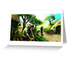 Maiar in the Shire Greeting Card