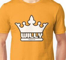 CROWN WILLY Unisex T-Shirt