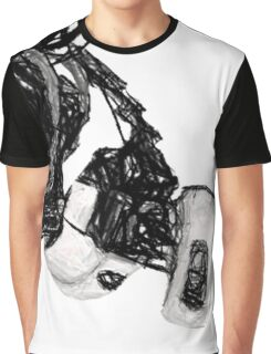 GlaDos Free Draw Graphic T-Shirt