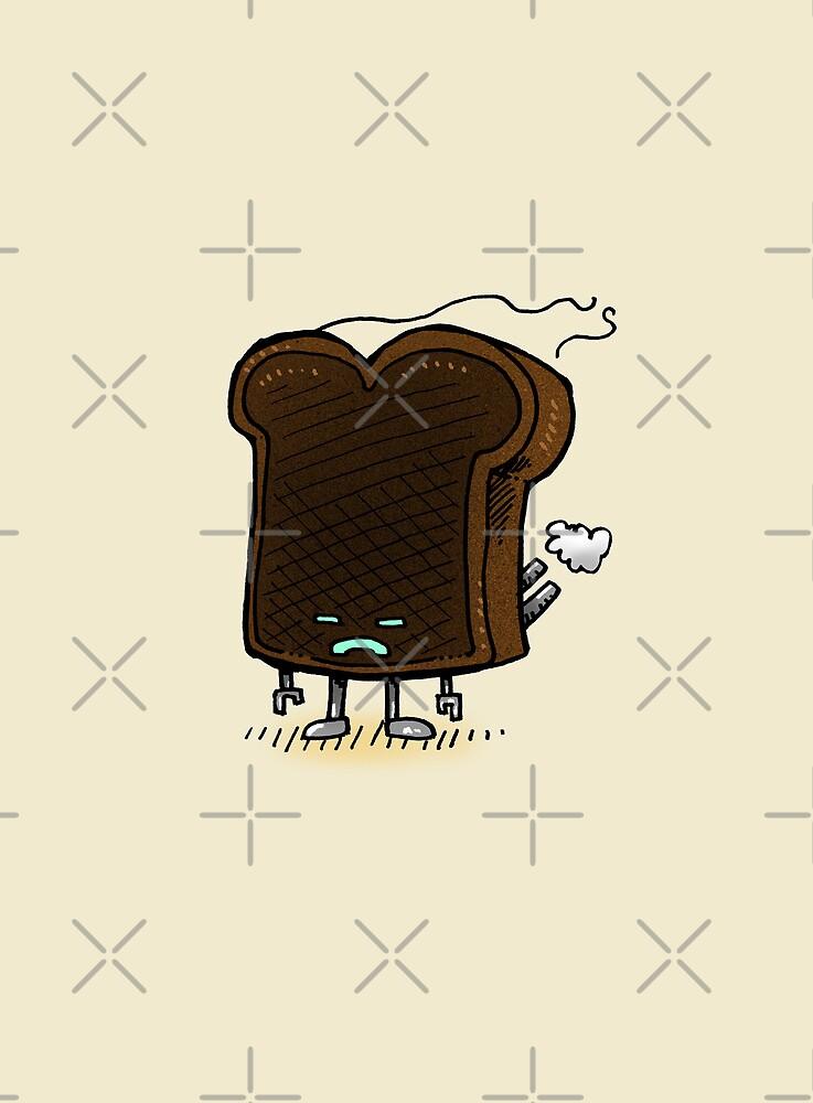 Burnt Toast Robot by nickv47