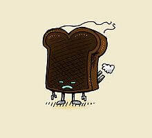 Burnt Toast Robot by nickv47