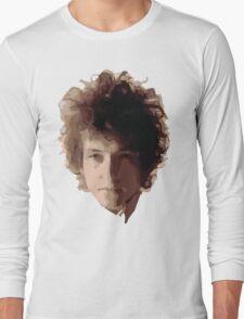 Bob Dylan Big Hair Long Sleeve T-Shirt