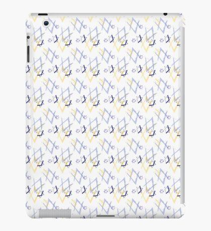 Jewish star print iPad Case/Skin