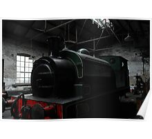 Steam Train, Tanfield Poster