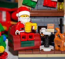 Santa enjoying a cup of java by garykaz