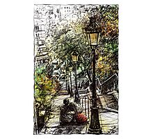 Montmartre 2 in colour Photographic Print