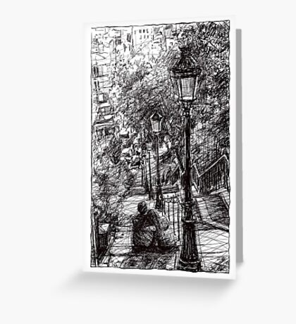 Montmartre 2 Greeting Card