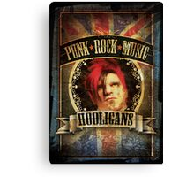 Punk Rock Music Canvas Print