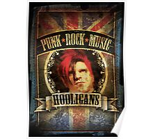 Punk Rock Music Poster