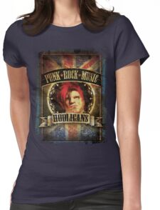 Punk Rock Music Womens Fitted T-Shirt
