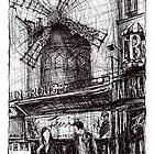 Montmartre 3 by Tatiana Ivchenkova