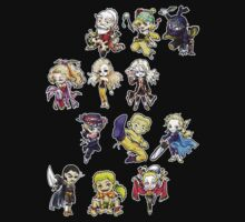 Final fantasy 6 chibi Kids Tee