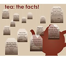 tea: the facts! Photographic Print