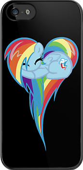 Heart Of Rainbow Dash by BambooDog