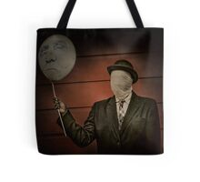 Face Off Tote Bag