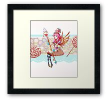 Candy Girl Framed Print