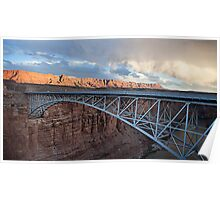 Navajo Bridge Poster
