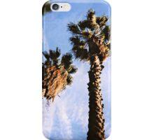 twin palms iPhone Case/Skin