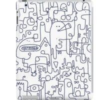 Where Are You - Navy Blue iPad Case/Skin