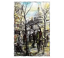 Montmartre 5 in colour Photographic Print