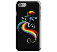 Flowing Rainbow iPhone Case/Skin