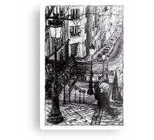Montmartre 8 Metal Print