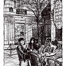 Montmartre 9 by Tatiana Ivchenkova