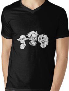 Goblin Siblings Mens V-Neck T-Shirt