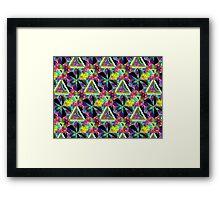 Honeycomb 1 B Framed Print