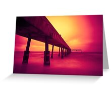 Pacifica Pier LTE 2 Greeting Card