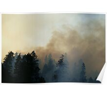 Fire in Moutains Poster