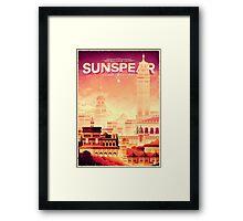 Sunspear - House Martell Framed Print