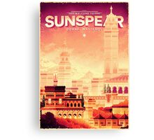 Sunspear - House Martell Canvas Print