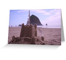 haystack rock, oregon Greeting Card