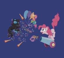 Party Cannon vs Changeling by Trony13