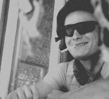 Petr, the smiling guard by Arakal Platt-Cassella