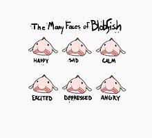 The Many Faces of Blobfish Unisex T-Shirt